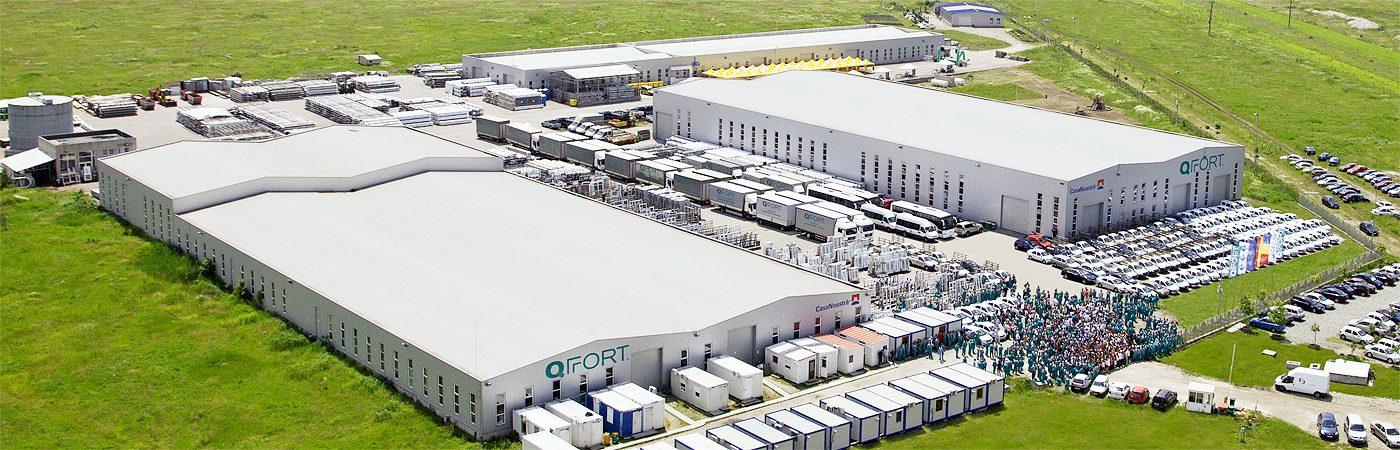 Fabrica de productie ferestre si usi termoizolante din pvc QFORT