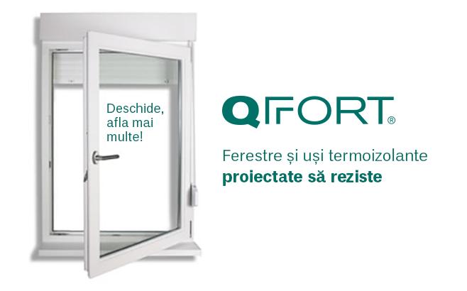 QFORT ferestre si usi termoizolante, proiectate sa reziste